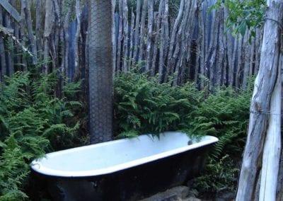 Bath under the stars
